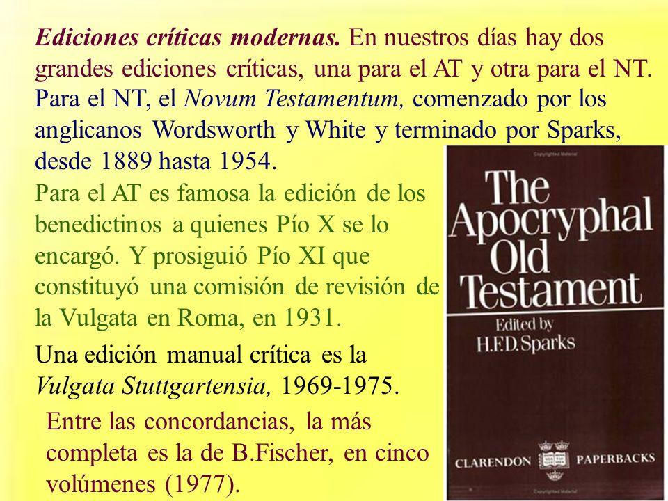 Ediciones críticas modernas