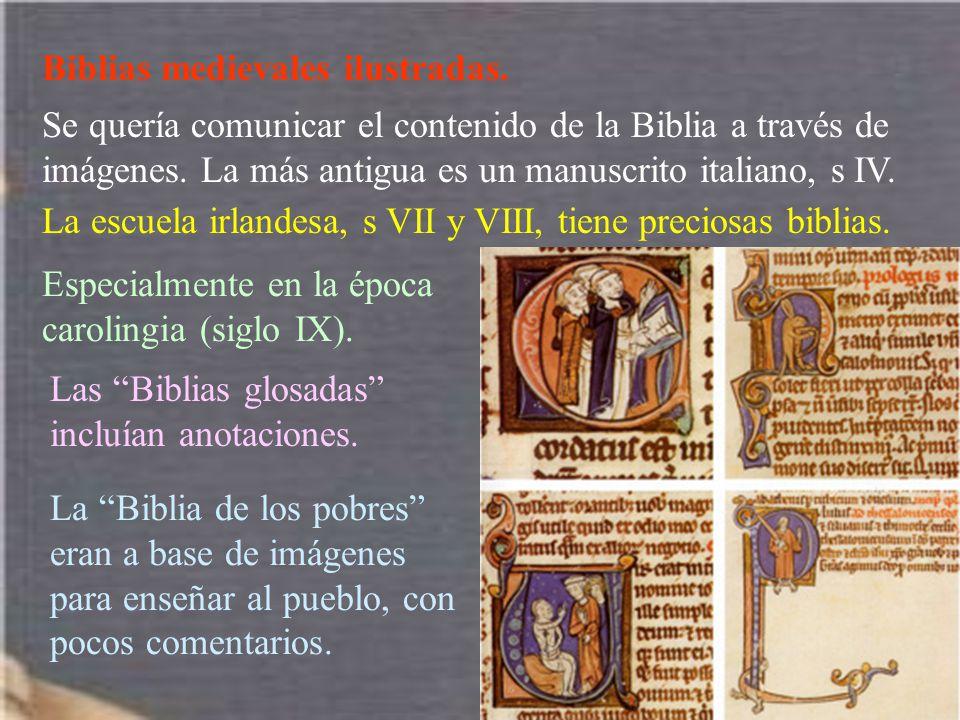 Biblias medievales ilustradas.