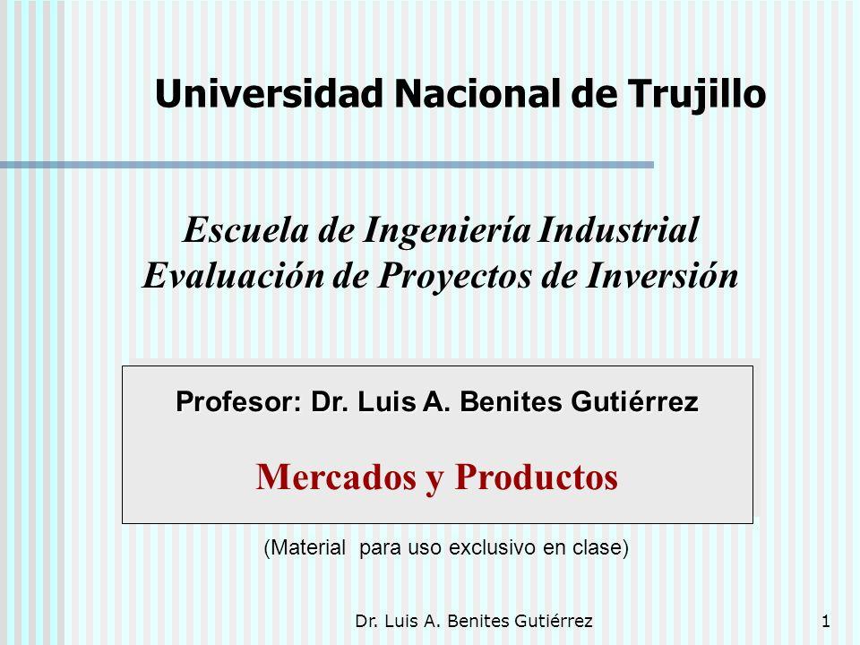 Escuela de Ingeniería Industrial Evaluación de Proyectos de Inversión