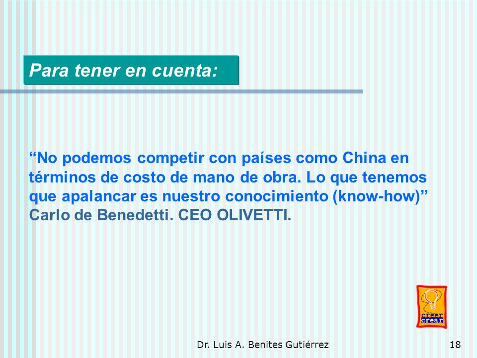Dr. Luis A. Benites Gutiérrez