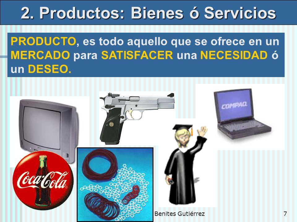 2. Productos: Bienes ó Servicios