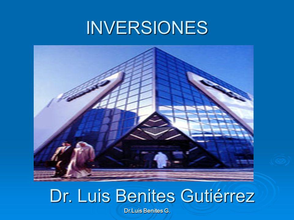 Dr. Luis Benites Gutiérrez