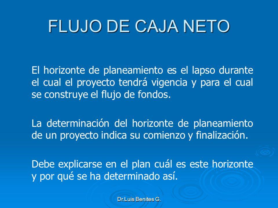 FLUJO DE CAJA NETO