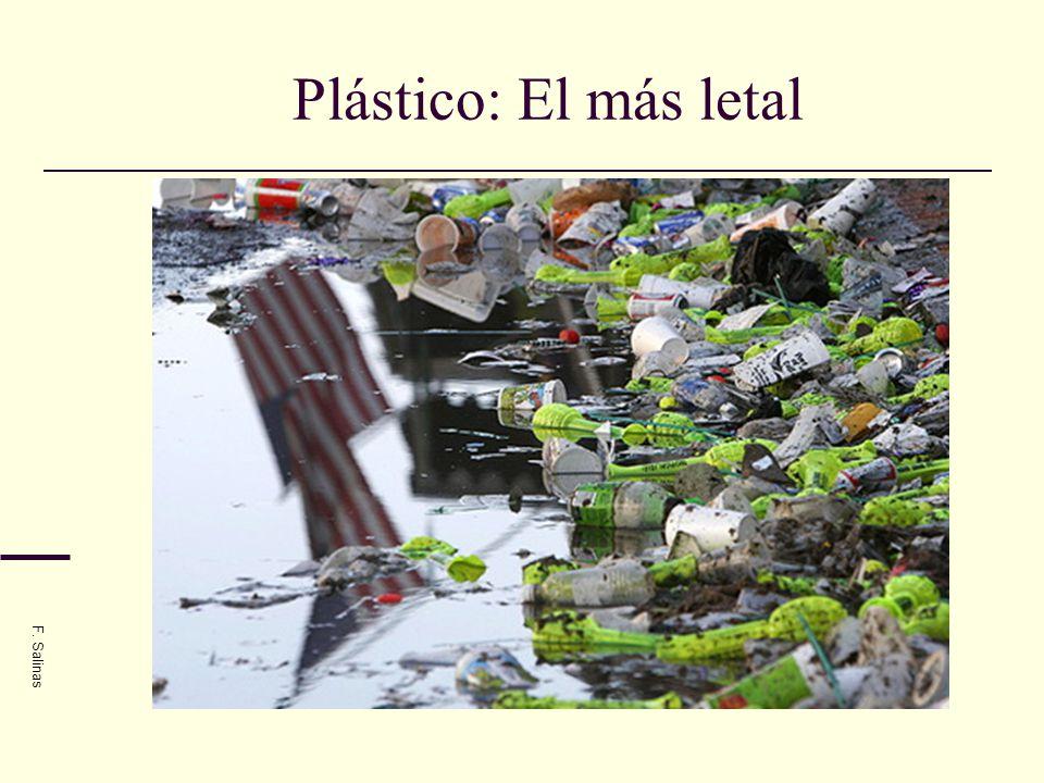 Plástico: El más letal F. Salinas