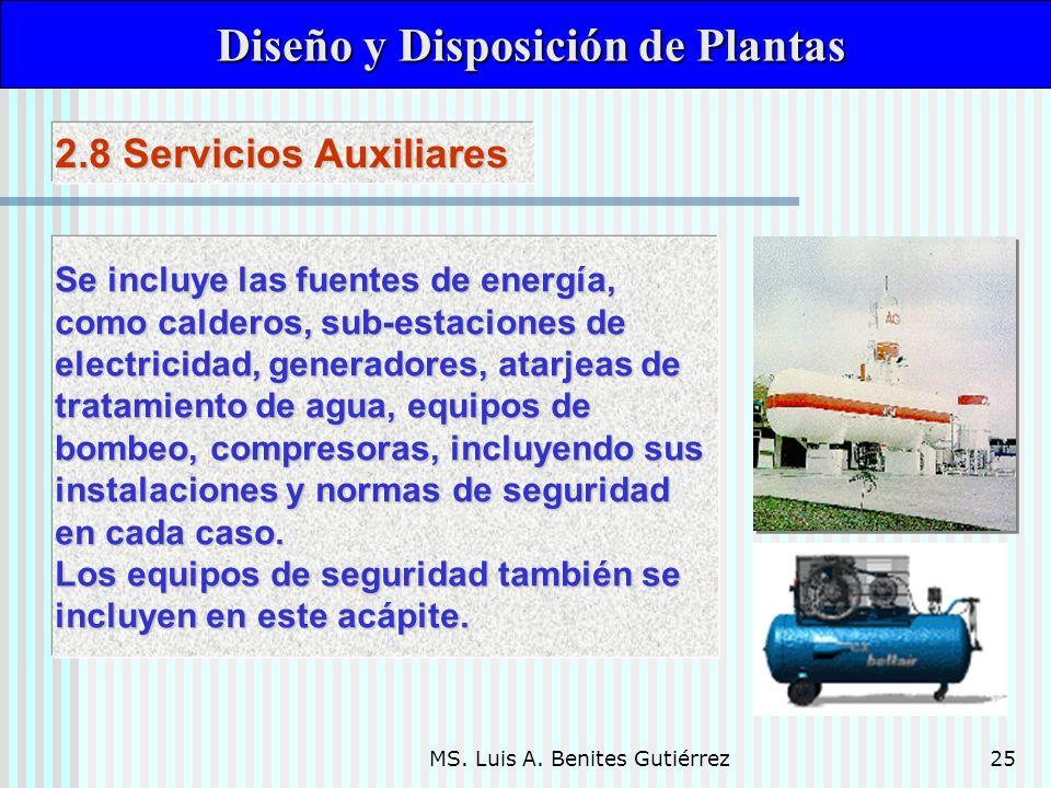 Diseño y Disposición de Plantas