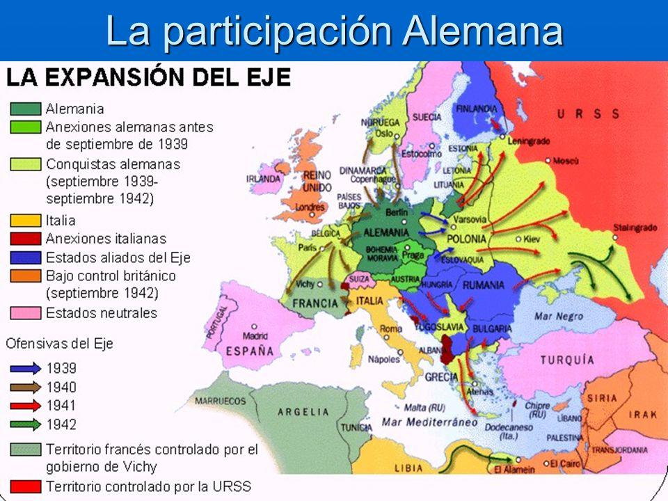 La participación Alemana