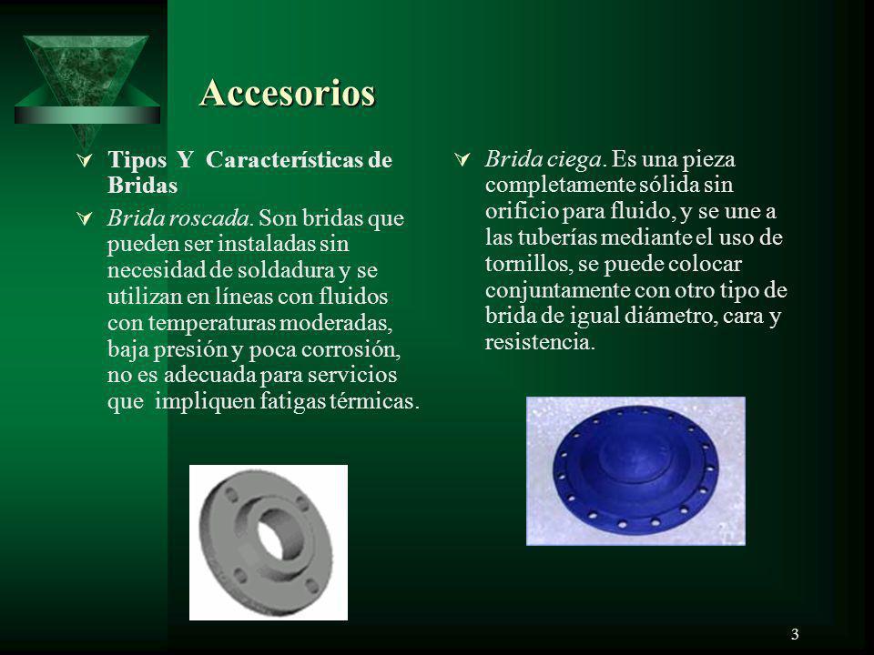 Accesorios Tipos Y Características de Bridas