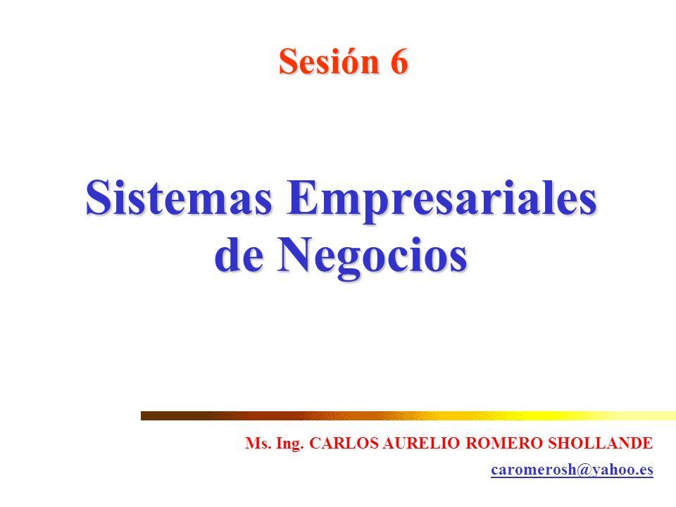 Sistemas Empresariales de Negocios