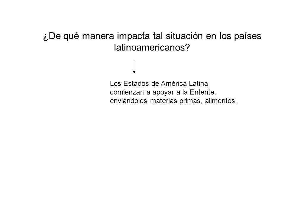 ¿De qué manera impacta tal situación en los países latinoamericanos