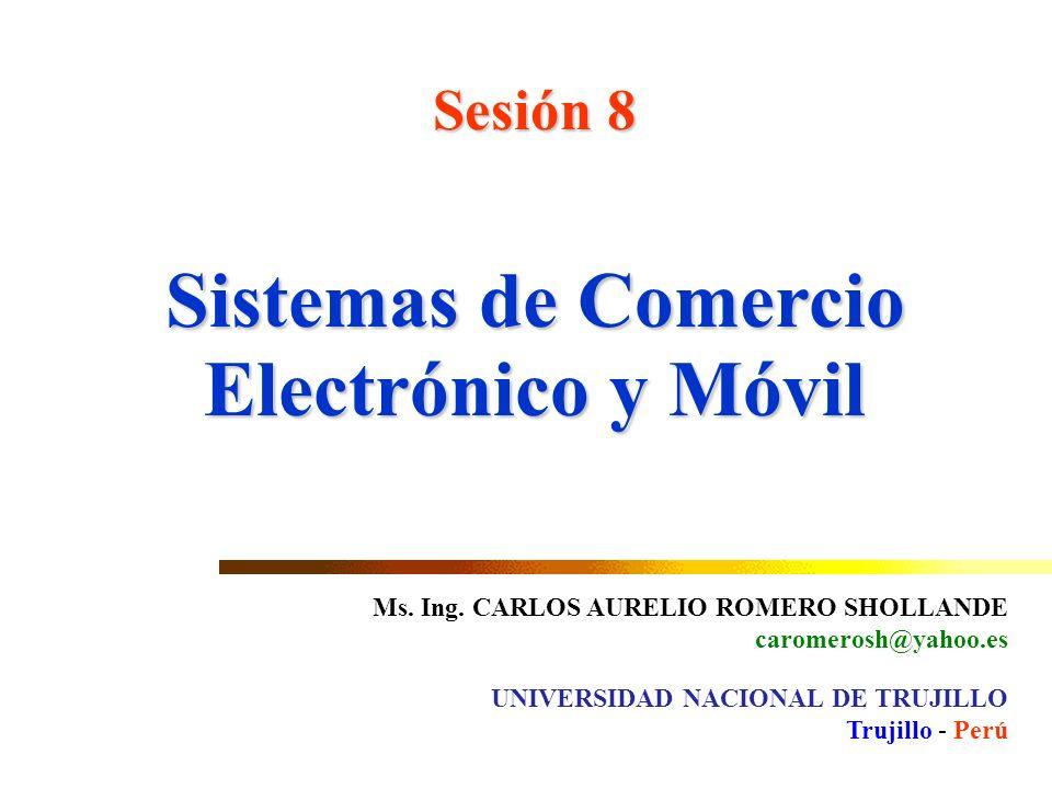 Sistemas de Comercio Electrónico y Móvil
