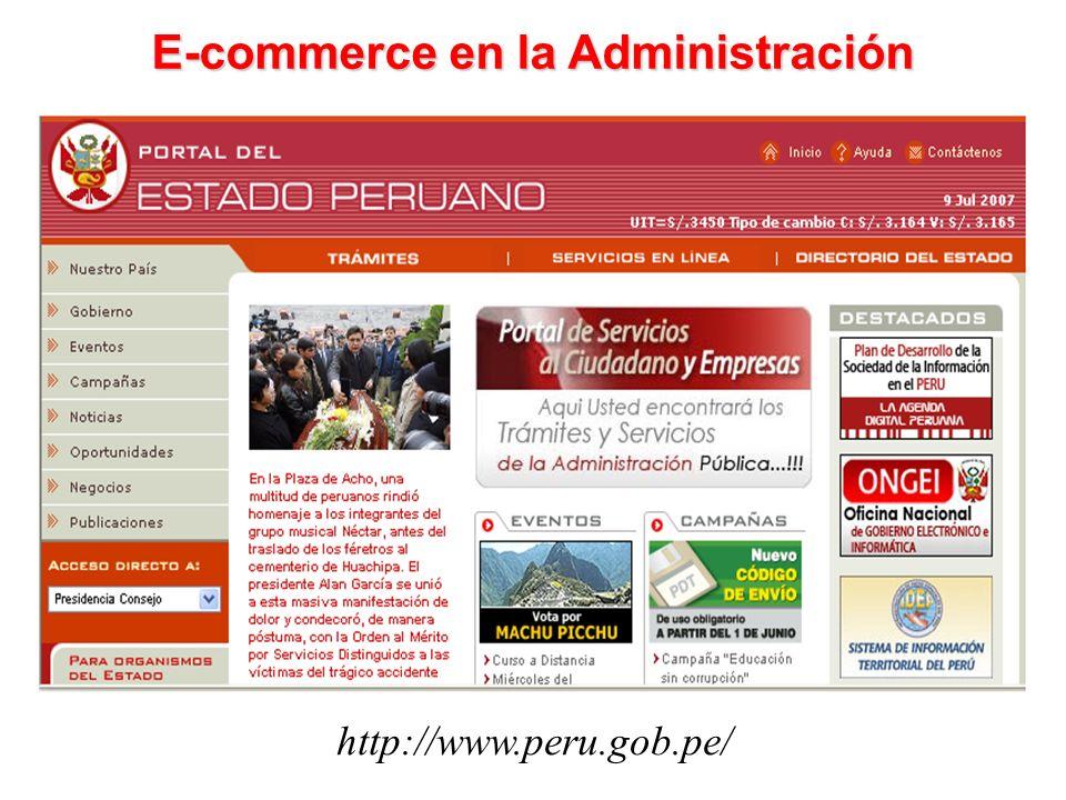 E-commerce en la Administración