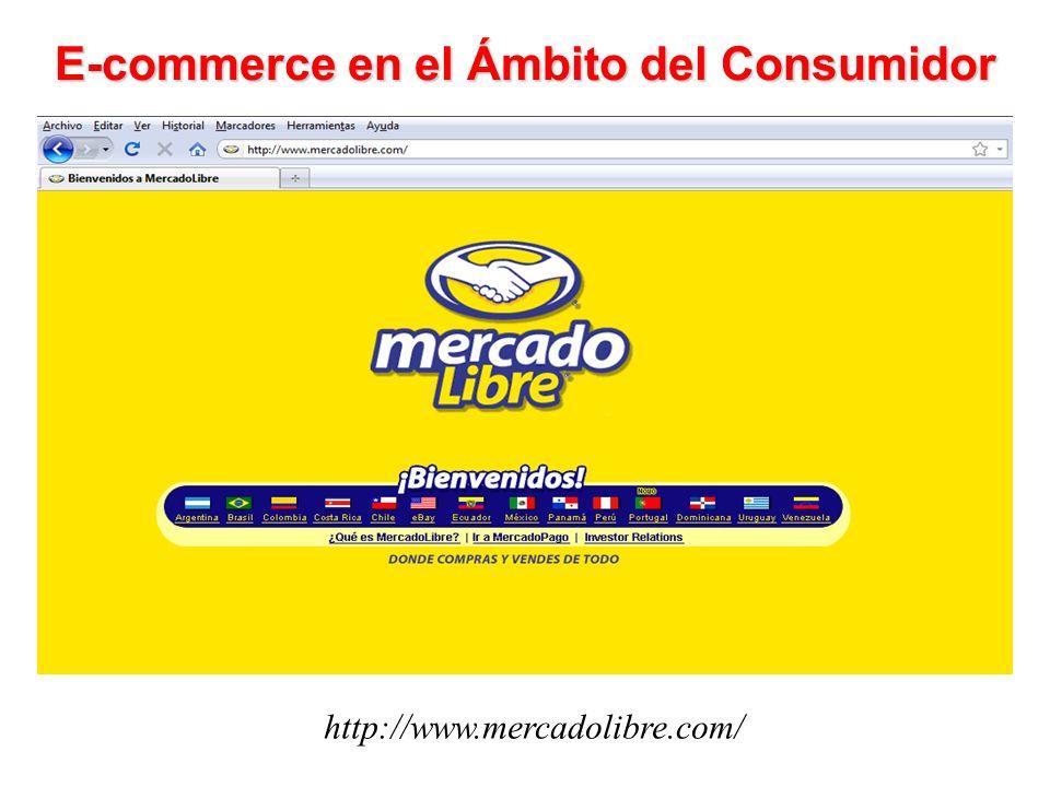 E-commerce en el Ámbito del Consumidor