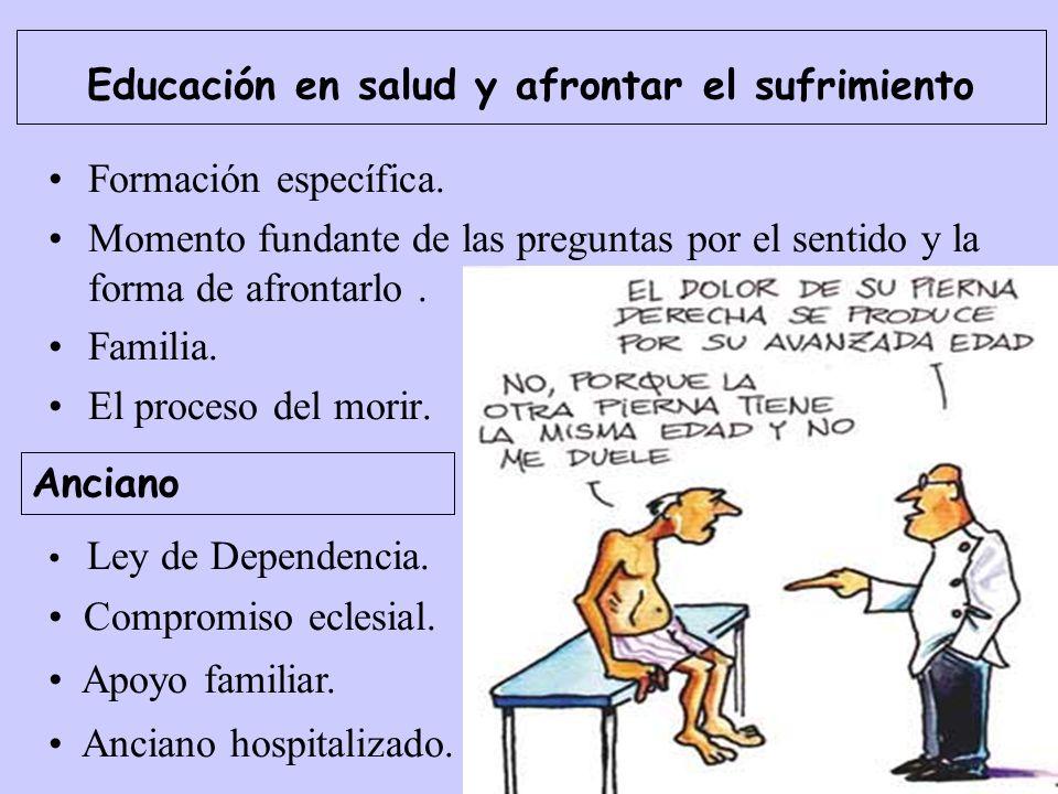 Educación en salud y afrontar el sufrimiento