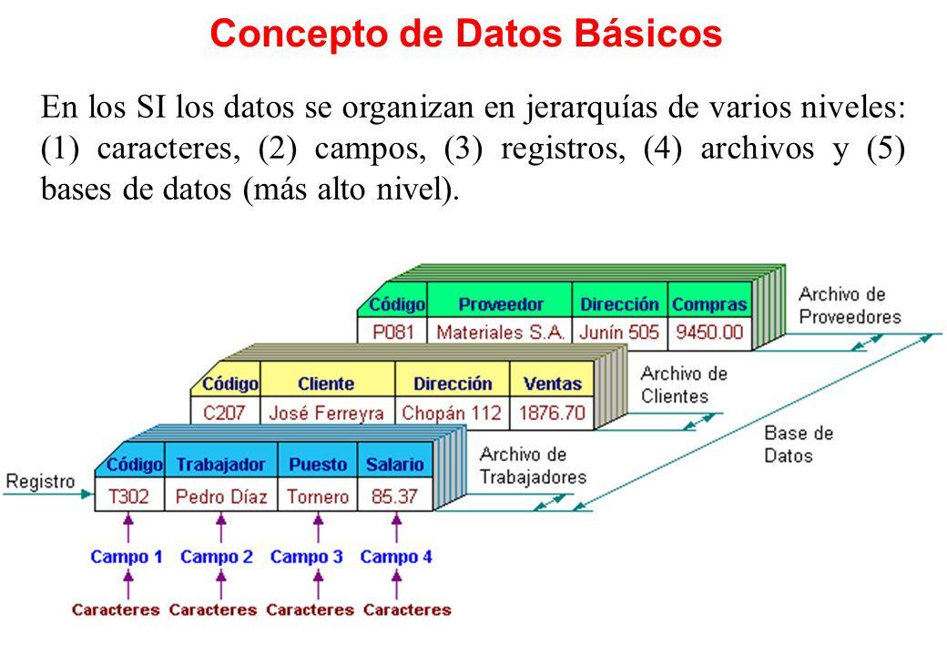 Concepto de Datos Básicos