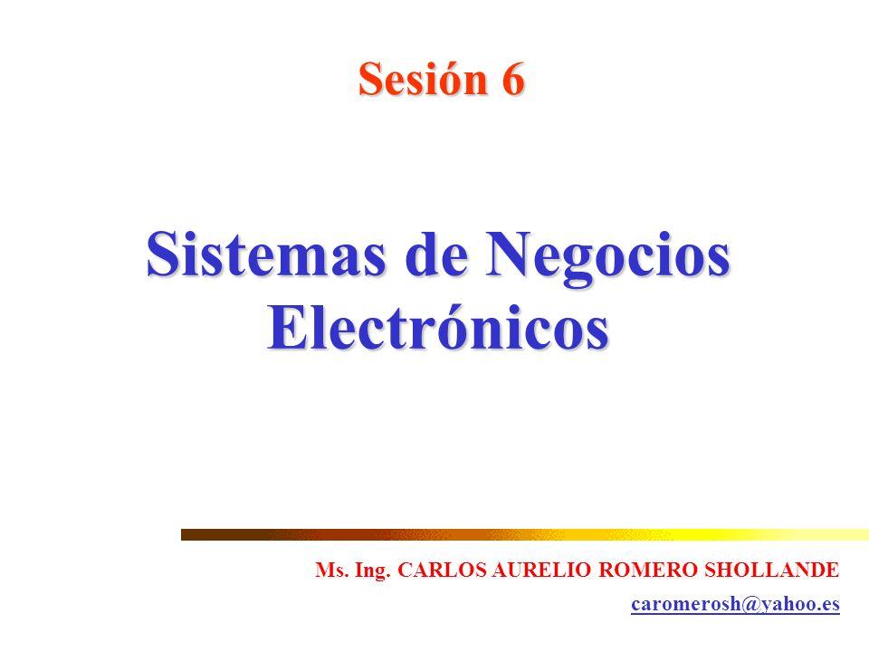 Sistemas de Negocios Electrónicos