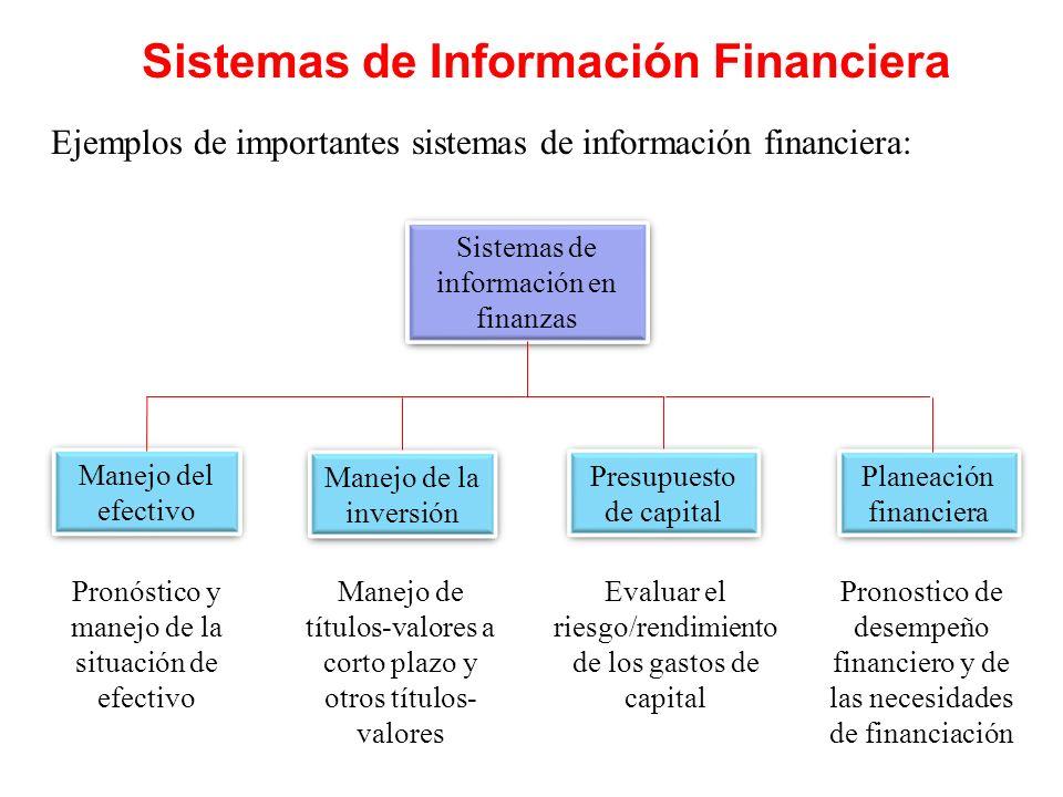 Sistemas de Información Financiera