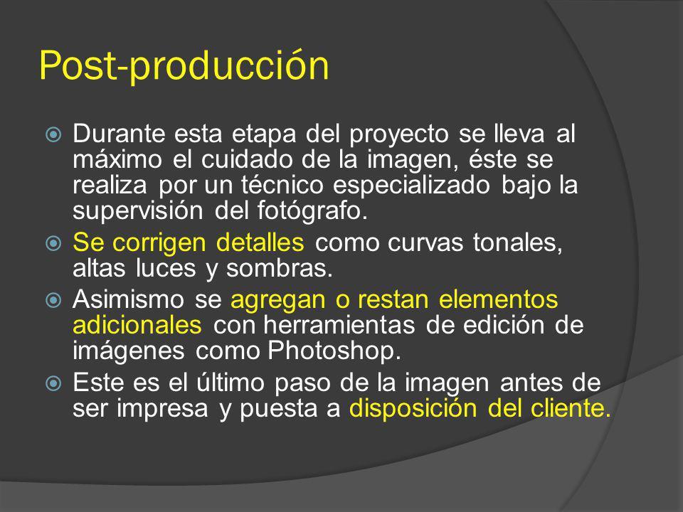 Post-producción