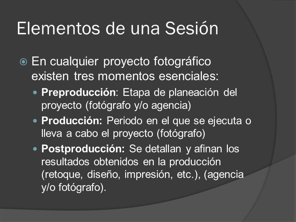 Elementos de una Sesión