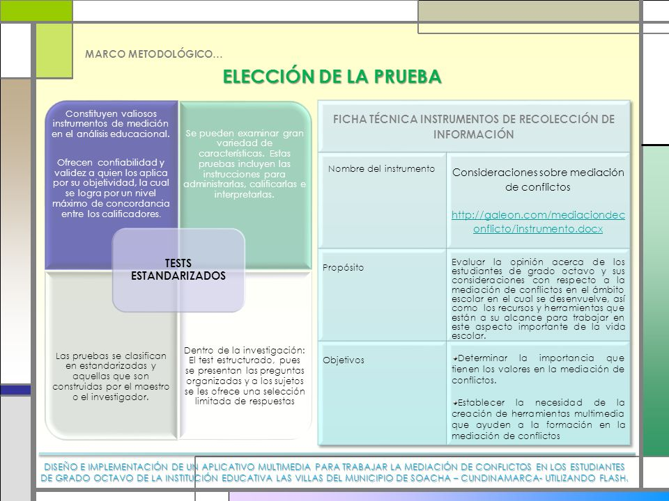 FICHA TÉCNICA INSTRUMENTOS DE RECOLECCIÓN DE INFORMACIÓN