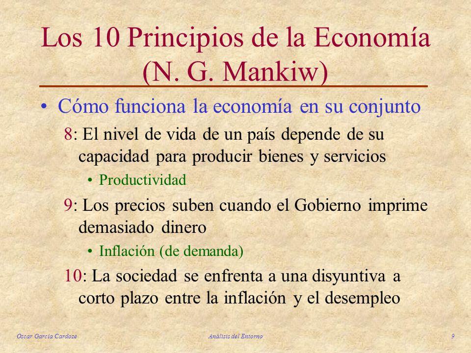 Los 10 Principios de la Economía (N. G. Mankiw)