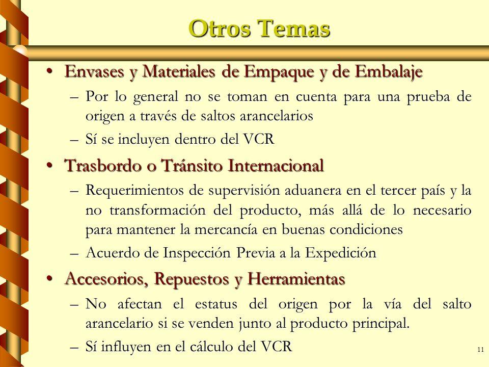 Otros Temas Envases y Materiales de Empaque y de Embalaje