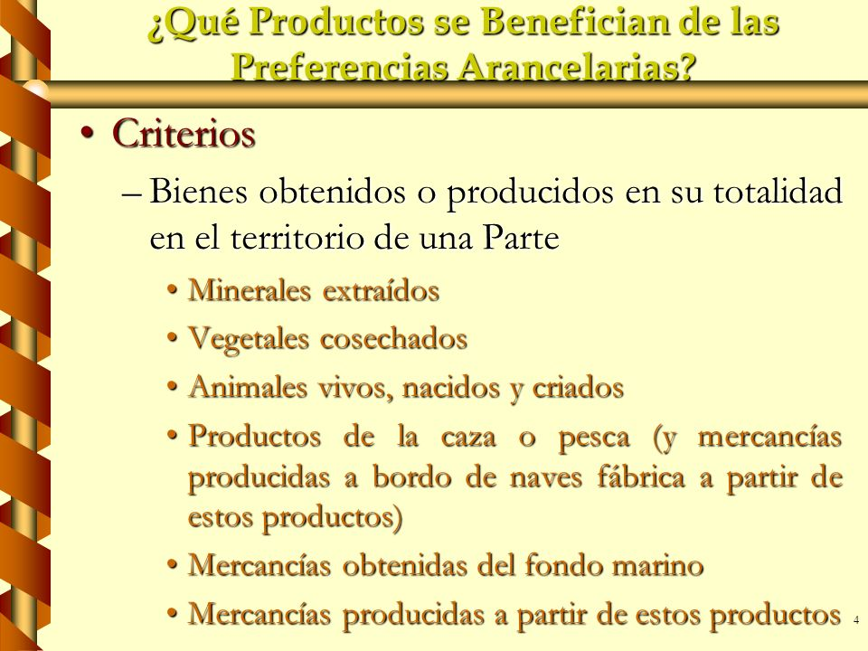 ¿Qué Productos se Benefician de las Preferencias Arancelarias