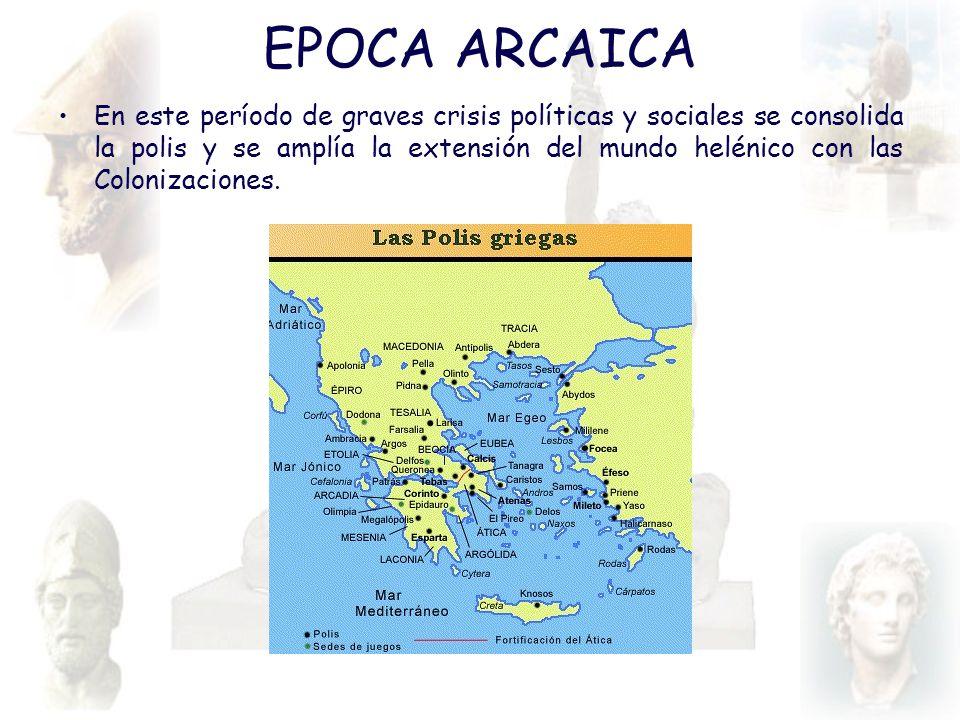 EPOCA ARCAICA