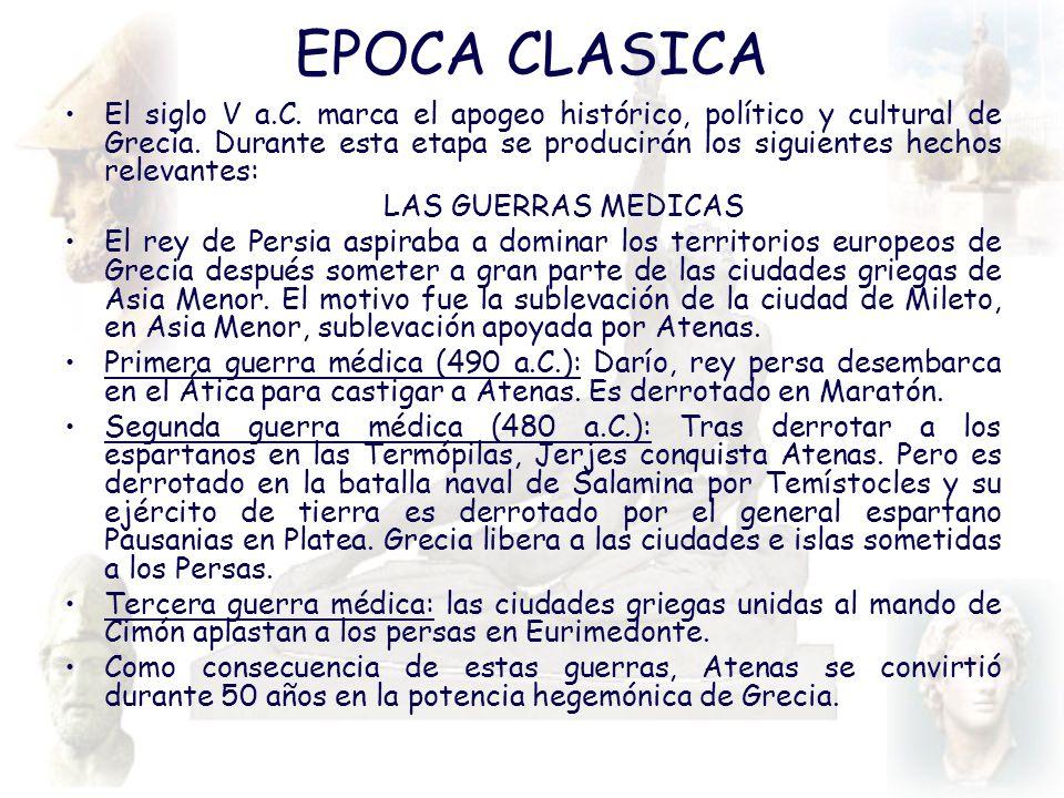 EPOCA CLASICA