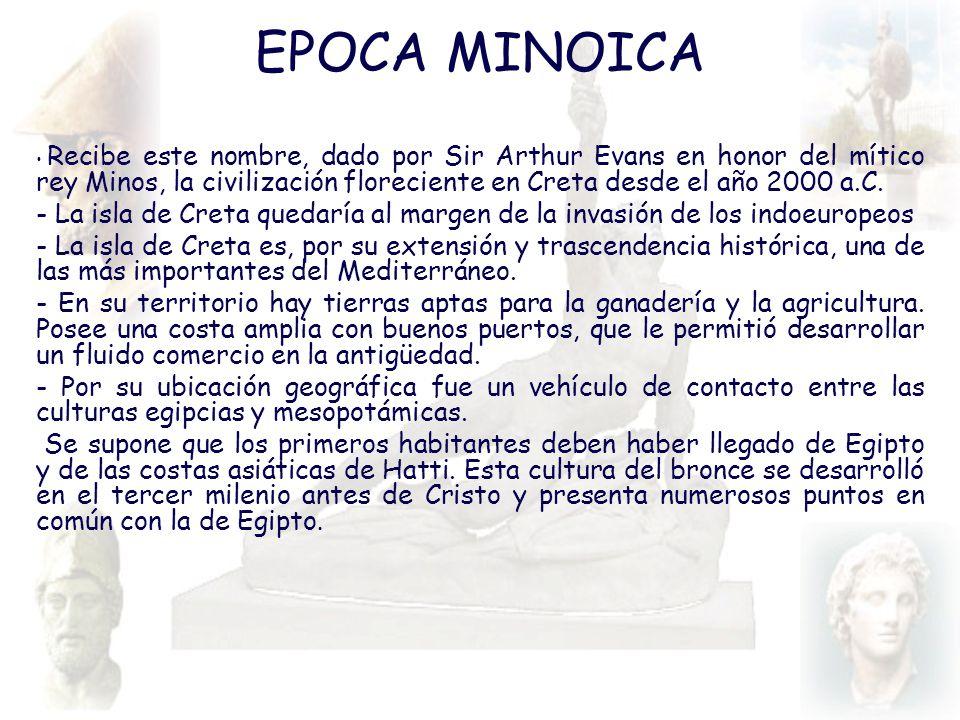 EPOCA MINOICA