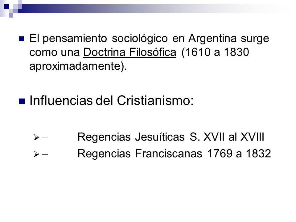 Influencias del Cristianismo: