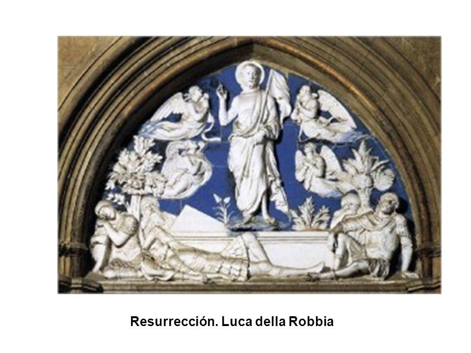 Resurrección. Luca della Robbia