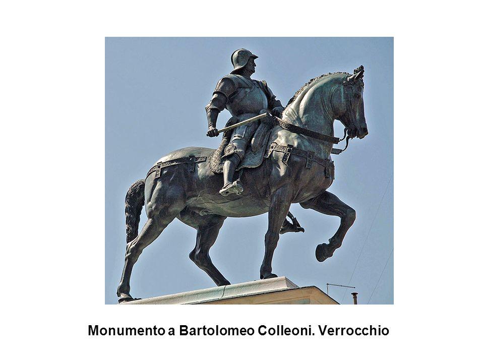 Monumento a Bartolomeo Colleoni. Verrocchio