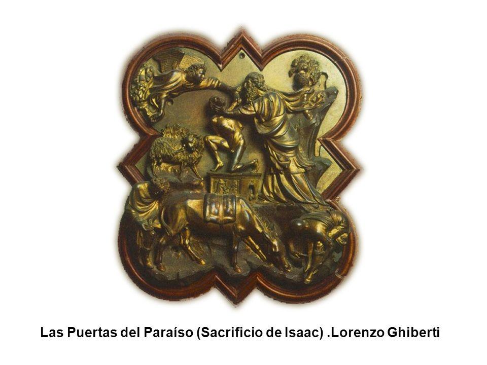 Las Puertas del Paraíso (Sacrificio de Isaac) .Lorenzo Ghiberti
