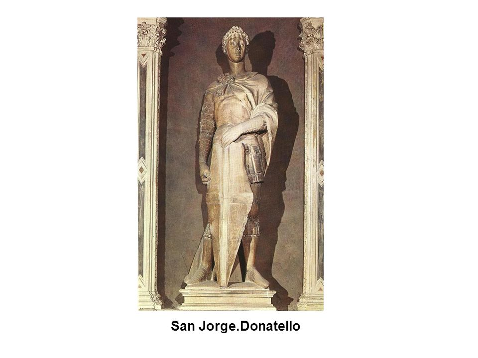 San Jorge.Donatello