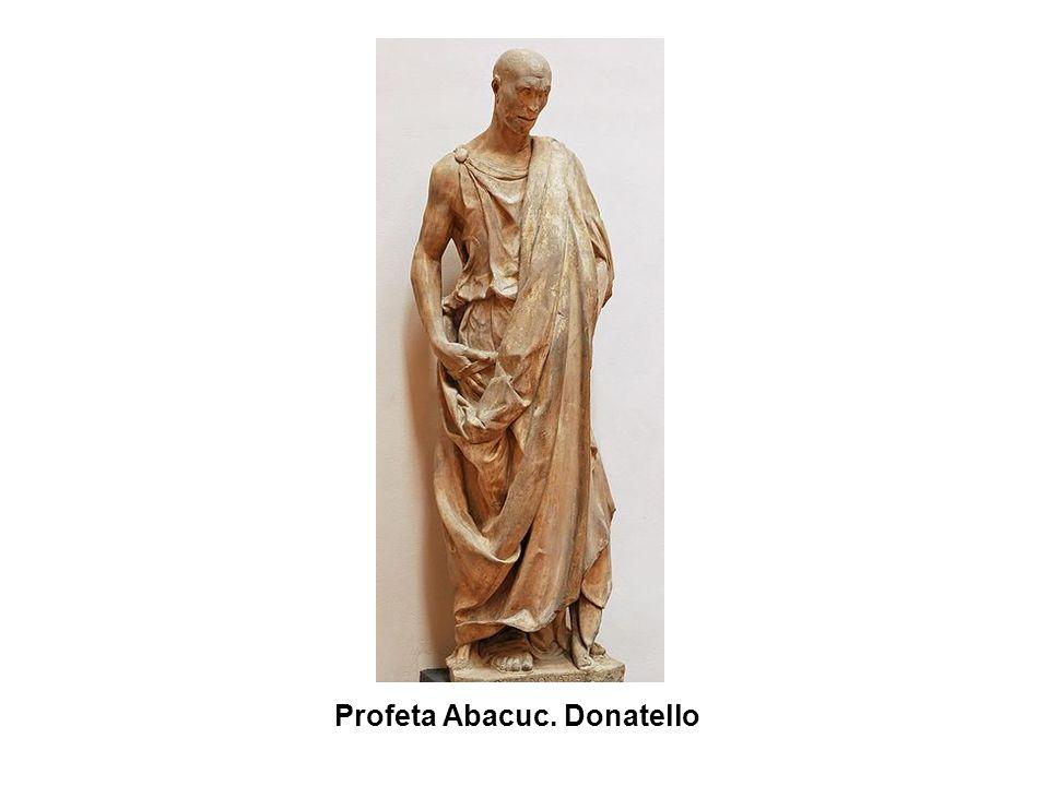 Profeta Abacuc. Donatello