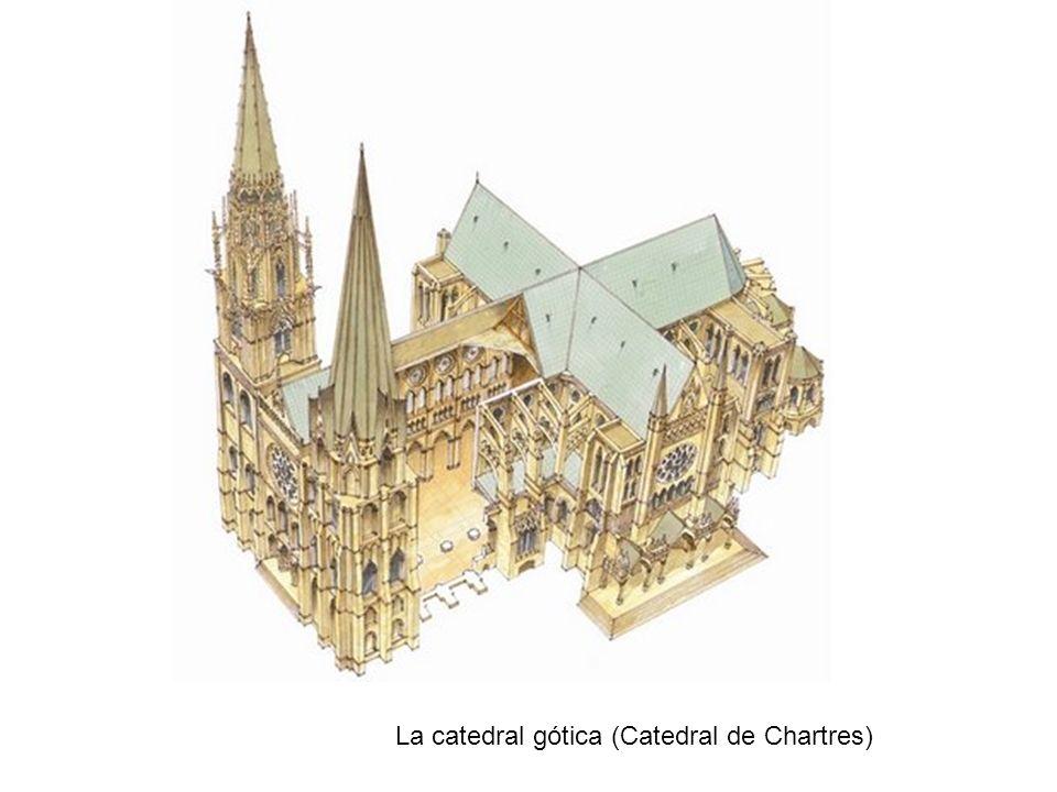 La catedral gótica (Catedral de Chartres)