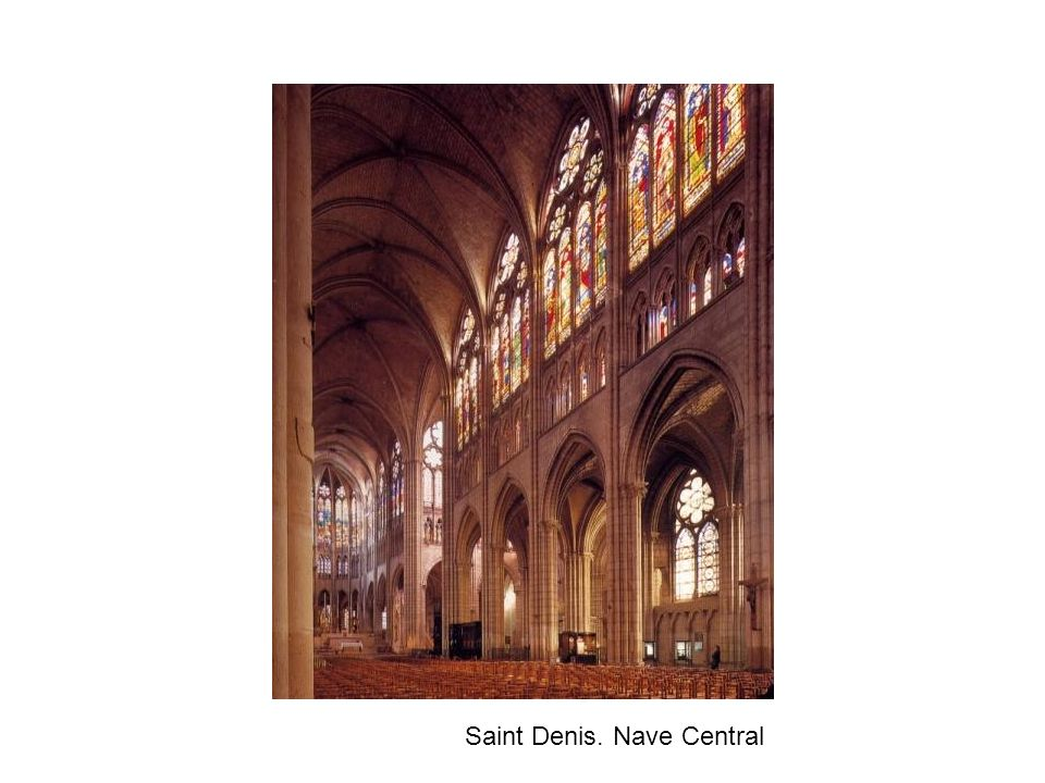 Saint Denis. Nave Central