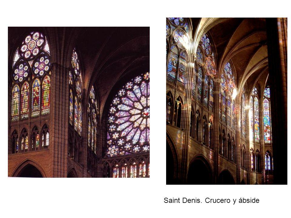 Saint Denis. Crucero y ábside