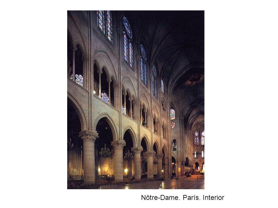 Nôtre-Dame. París. Interior