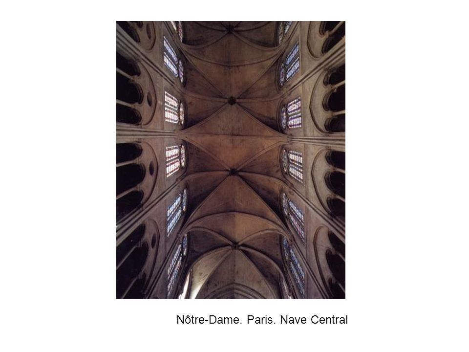Nôtre-Dame. Paris. Nave Central