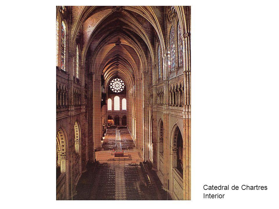 Catedral de Chartres Interior