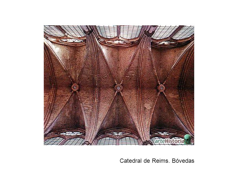 Catedral de Reims. Bóvedas