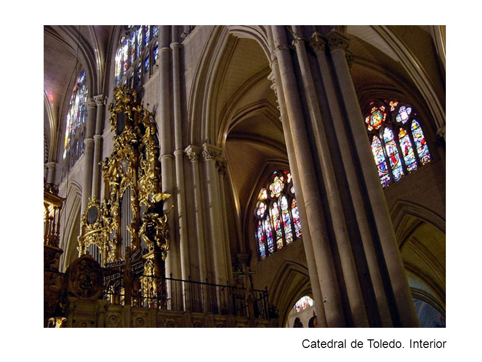 Catedral de Toledo. Interior