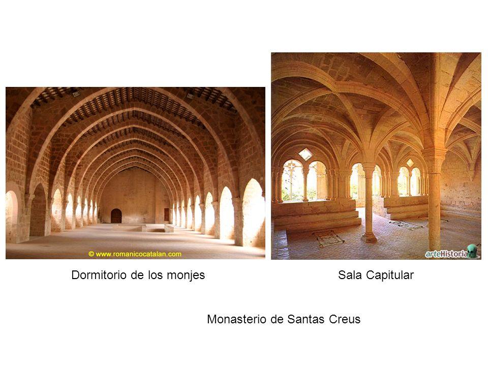 Dormitorio de los monjes Sala Capitular