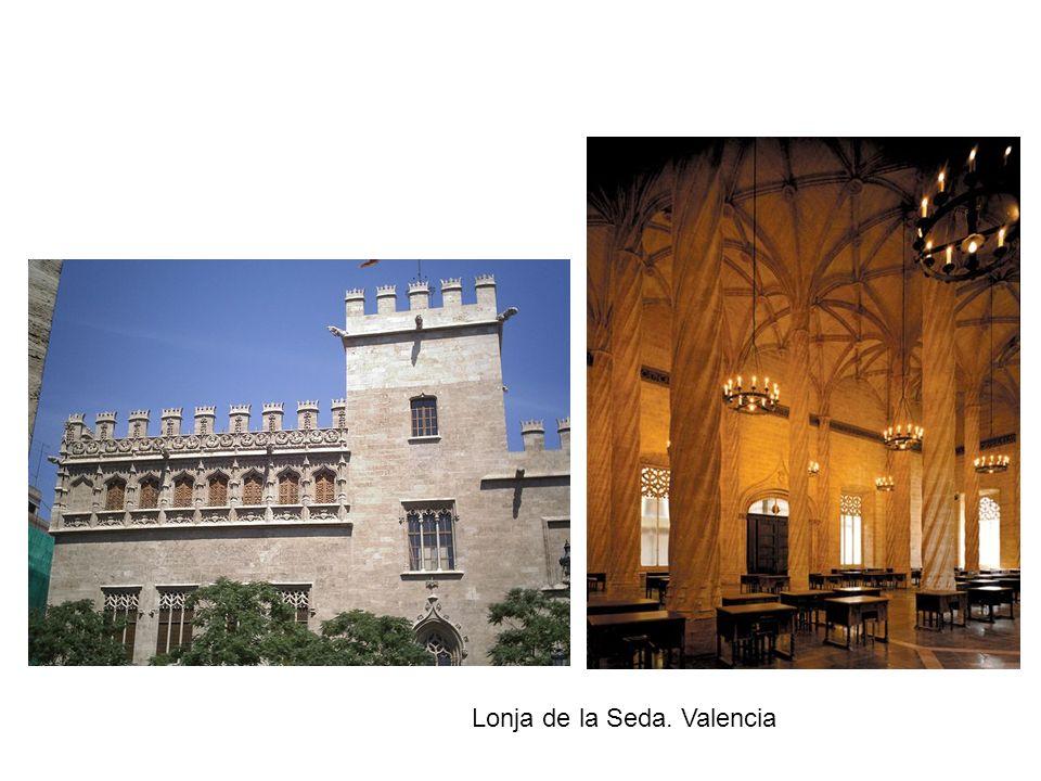 Lonja de la Seda. Valencia