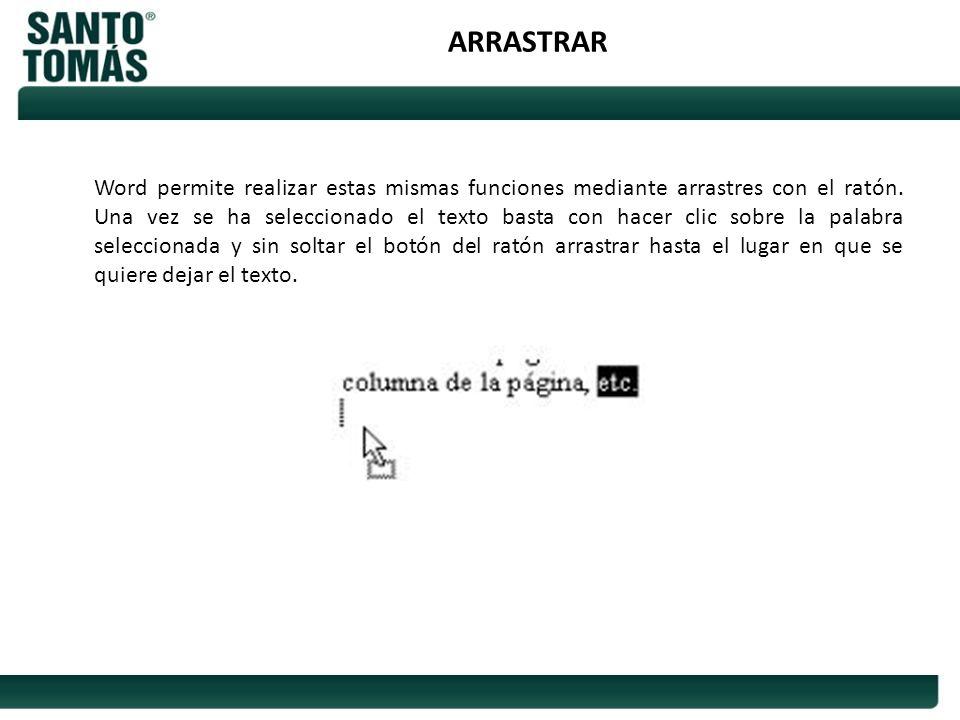 ARRASTRAR
