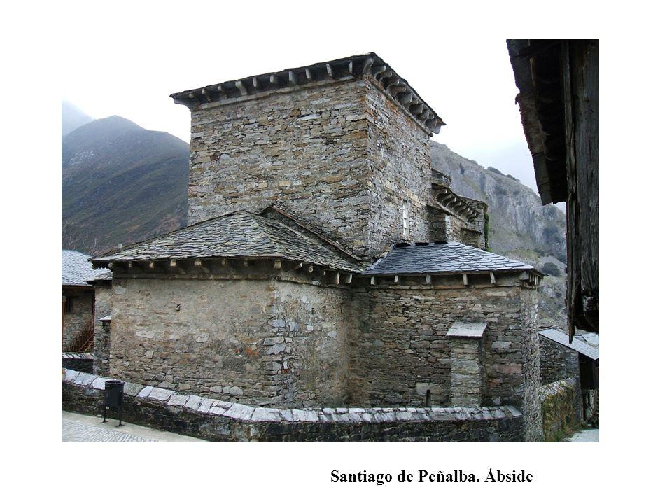 Santiago de Peñalba. Ábside