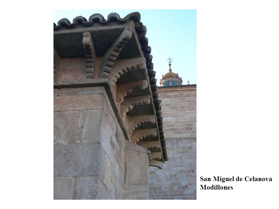 San Miguel de Celanova Modillones
