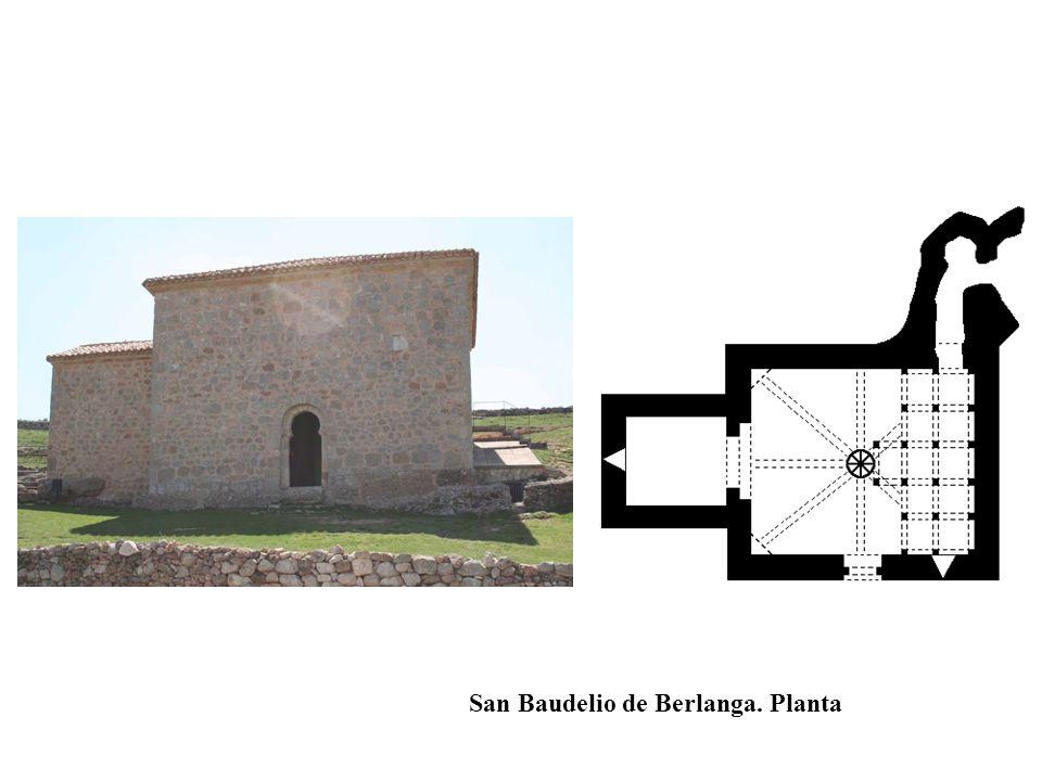 San Baudelio de Berlanga. Planta