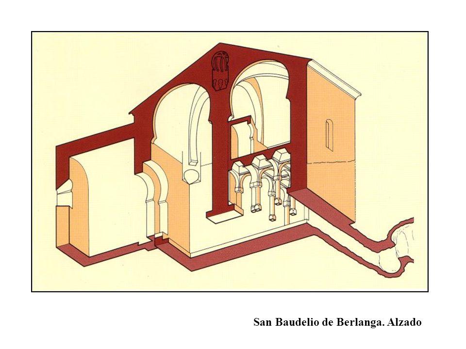 San Baudelio de Berlanga. Alzado